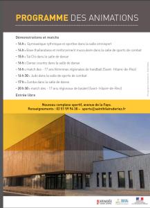 2014-2015 - Inauguration Faye 2